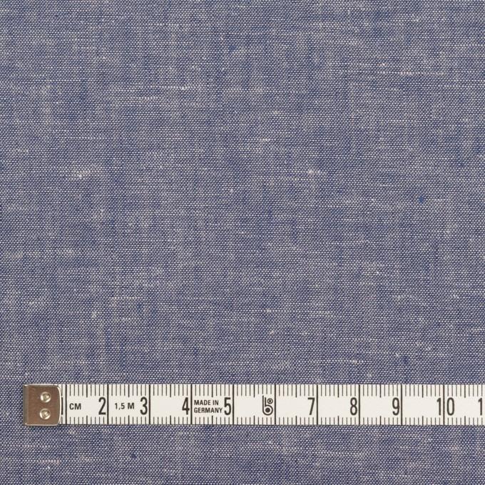 コットン&リネン×無地(ブルー)×薄ダンガリー イメージ4