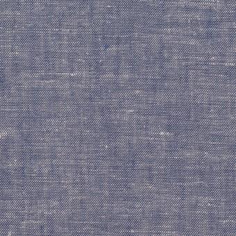 コットン&リネン×無地(ブルー)×薄ダンガリー
