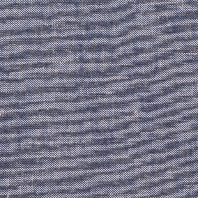 コットン&リネン×無地(ブルー)×薄ダンガリー イメージ1