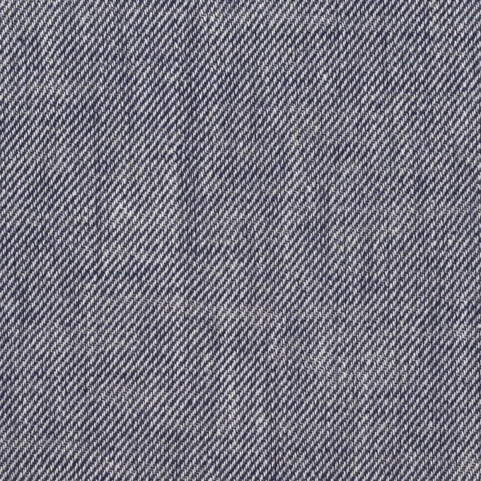コットン×無地(ネイビー)×サージ イメージ1