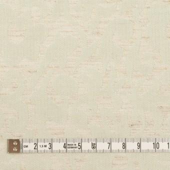 ポリエステル&リネン×幾何学模様(グレイッシュベージュ&ミント)×フクレジャガード サムネイル4