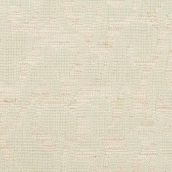 ポリエステル&リネン×幾何学模様(グレイッシュベージュ&ミント)×フクレジャガード サムネイル1