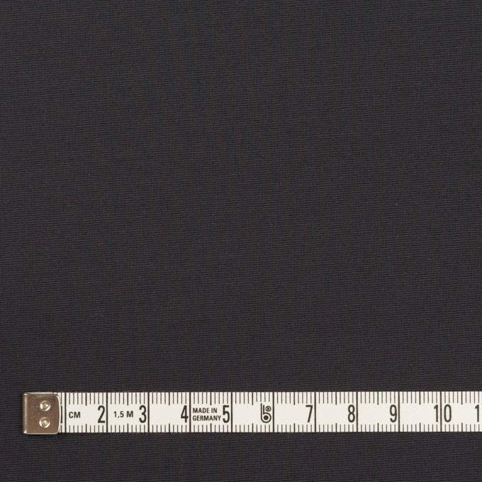 ポリエステル&ナイロン混×無地(チャコール)×ファイユストレッチ イメージ4