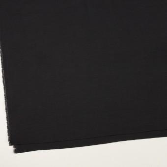 コットン&キュプラ×無地(ブラック)×かわり織_イタリア製 サムネイル2