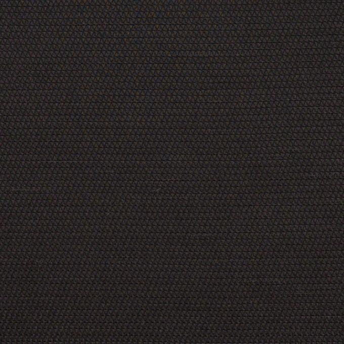 コットン&キュプラ×無地(ブラック)×かわり織_イタリア製 イメージ1