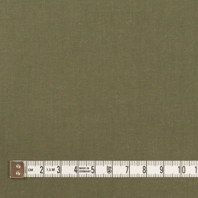 コットン&テンセル×無地(アッシュカーキグリーン)×シャンブレー・ローン_全4色 イメージ4