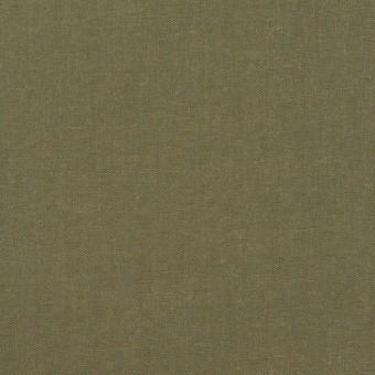 コットン&テンセル×無地(アッシュカーキグリーン)×シャンブレー・ローン_全4色