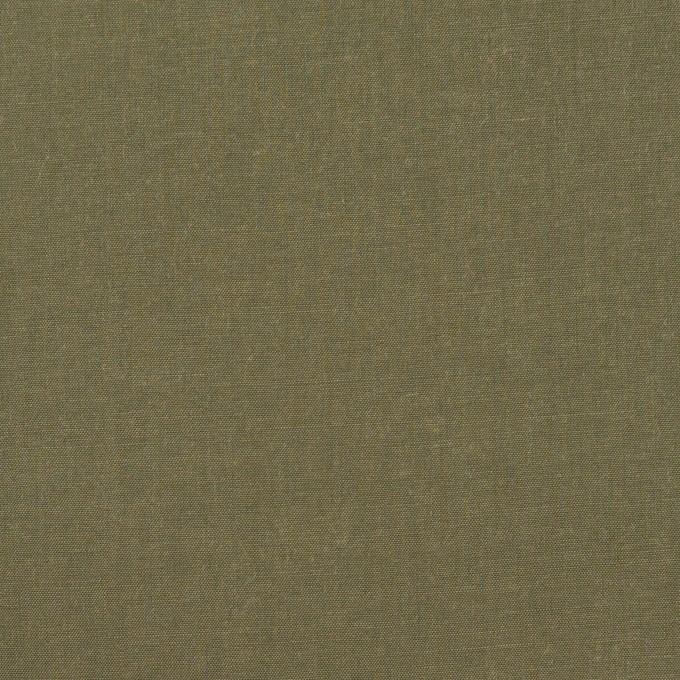 コットン&テンセル×無地(アッシュカーキグリーン)×シャンブレー・ローン_全4色 イメージ1