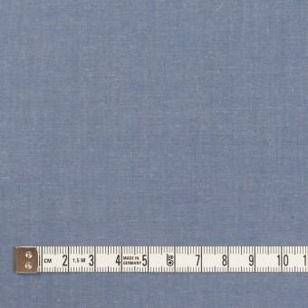 コットン&テンセル×無地(アッシュブルー)×シャンブレー・ローン_全4色 サムネイル4