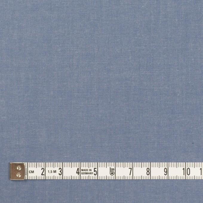 コットン&テンセル×無地(アッシュブルー)×シャンブレー・ローン_全4色 イメージ4