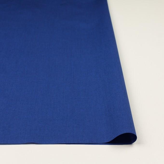 コットン&テンセル×無地(ロイヤルブルー)×シャンブレー・ローン_全4色 イメージ3