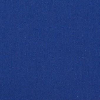 コットン&テンセル×無地(ロイヤルブルー)×シャンブレー・ローン_全4色