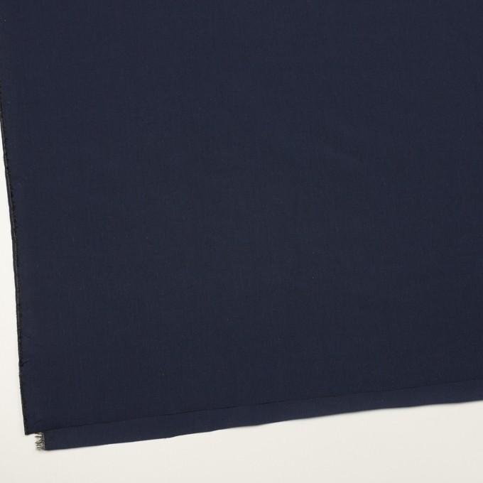 コットン&テンセル×無地(ネイビー)×シャンブレー・ローン_全4色 イメージ2