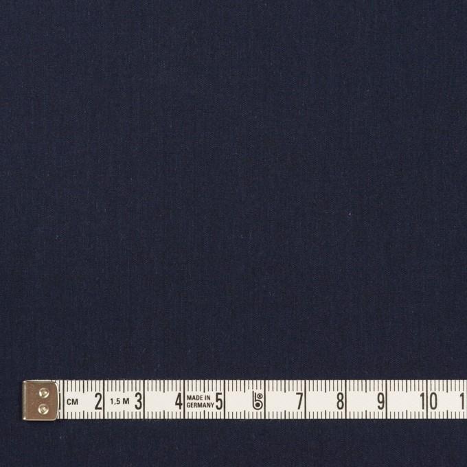 コットン&テンセル×無地(ネイビー)×シャンブレー・ローン_全4色 イメージ4