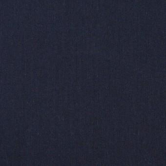コットン&テンセル×無地(ネイビー)×シャンブレー・ローン_全4色