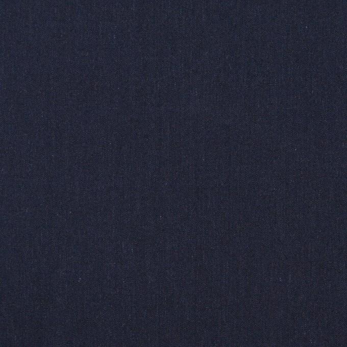 コットン&テンセル×無地(ネイビー)×シャンブレー・ローン_全4色 イメージ1