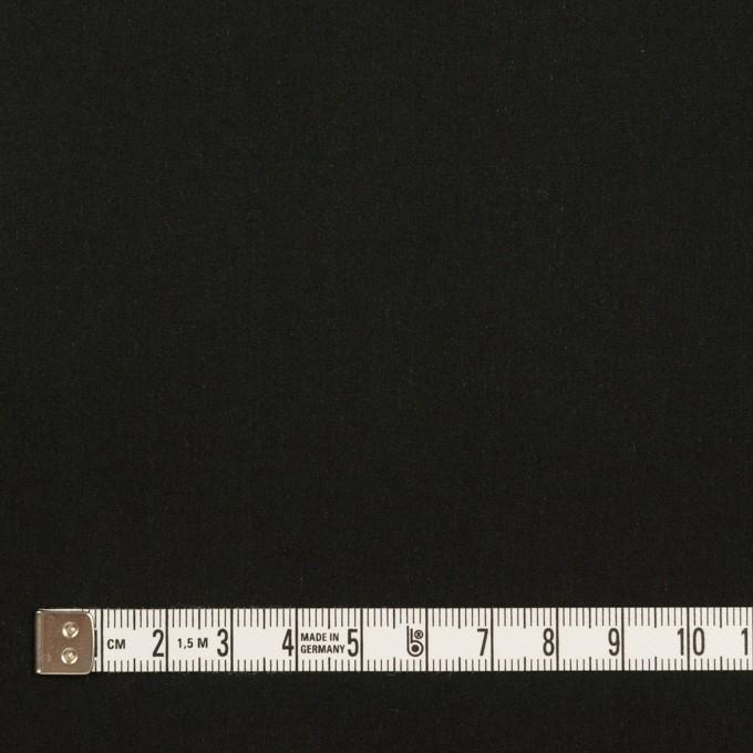 コットン&テンセル×無地(ブラック)×ローン イメージ4