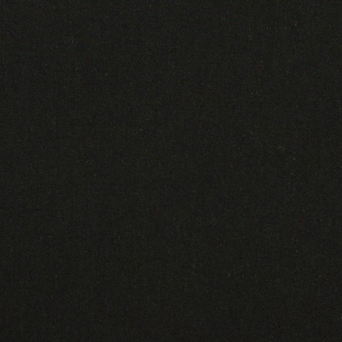 コットン&テンセル×無地(ブラック)×ローン イメージ1