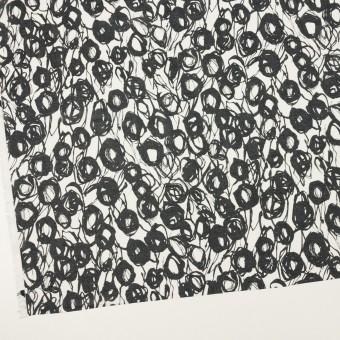 コットン×ペイント(ホワイト&ダークネイビー)×ボイル サムネイル2