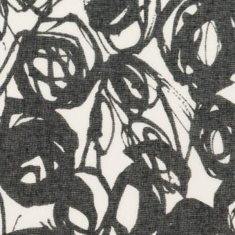 コットン×ペイント(ホワイト&ダークネイビー)×ボイル サムネイル1