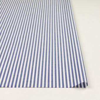 コットン×ストライプ(ブルー)×ローン サムネイル3