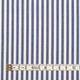 コットン×ストライプ(ブルー)×ローン サムネイル4