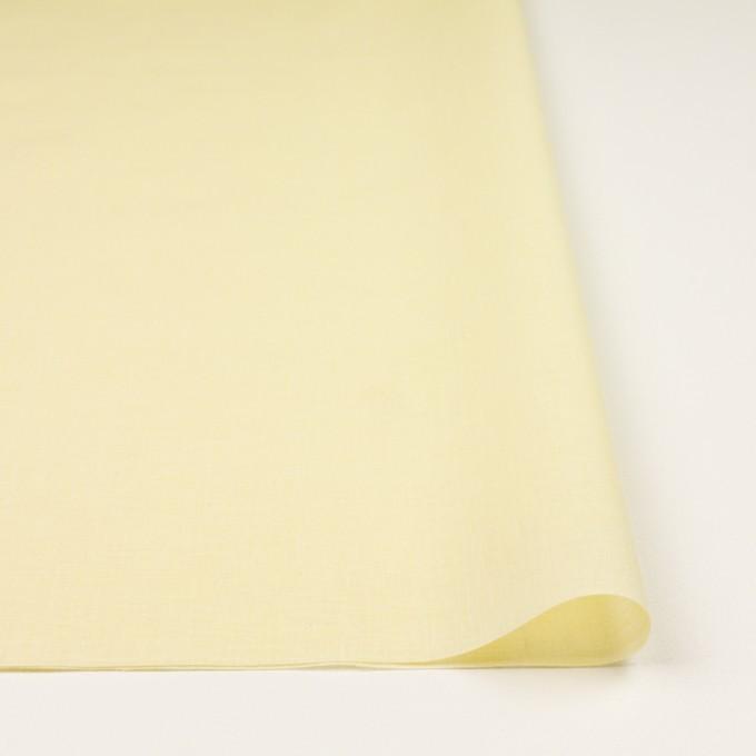 コットン×無地(イエロー)×ボイル_全3色 イメージ3