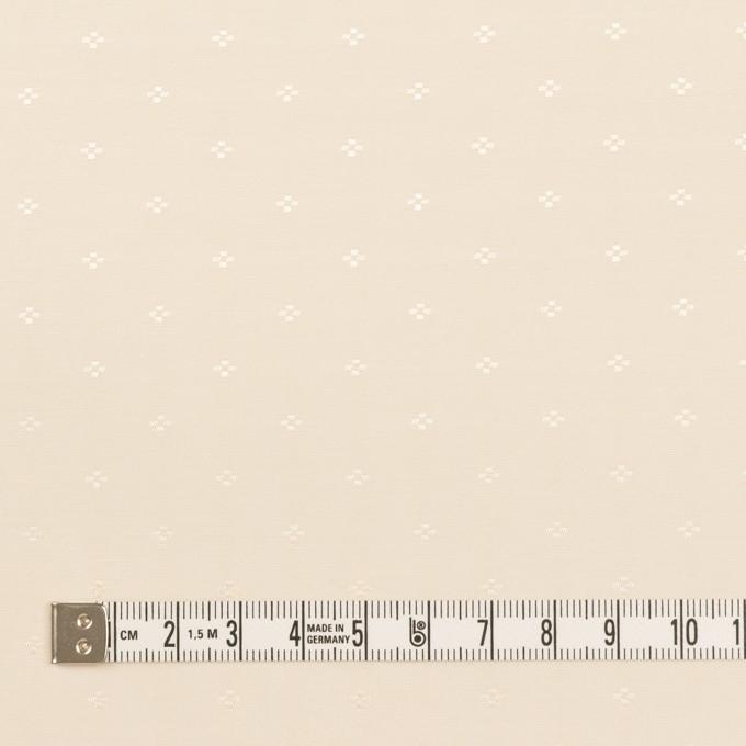 コットン&シルク×小紋(キナリ)×ローンジャガード_全2色 イメージ4