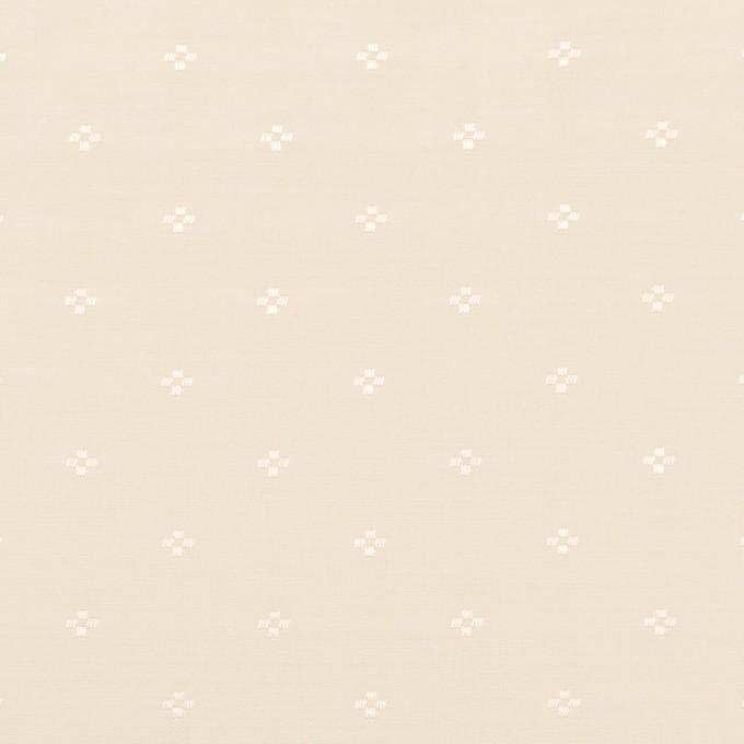 コットン&シルク×小紋(キナリ)×ローンジャガード_全2色 イメージ1
