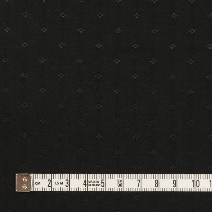 コットン&シルク×小紋(ブラック)×ローンジャガード_全2色 イメージ4