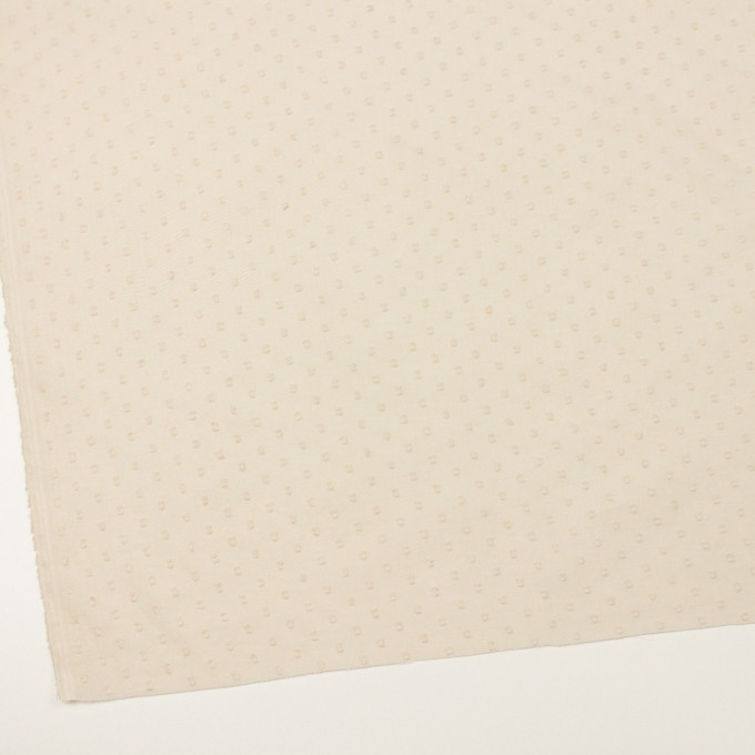 コットン×ドット(キナリ)×ボイルカットジャガード_全2色 イメージ2