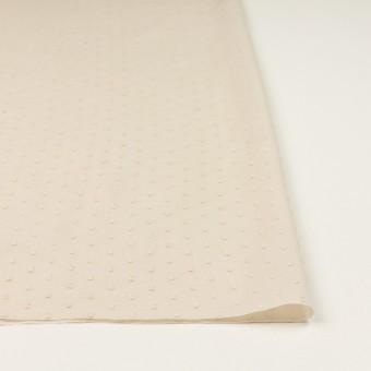 コットン×ドット(キナリ)×ボイルカットジャガード_全2色 サムネイル3
