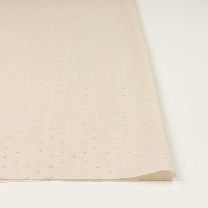 コットン×ドット(キナリ)×ボイルカットジャガード_全2色 イメージ3