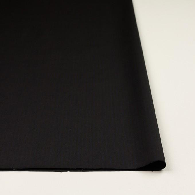 コットン&レーヨン混×ストライプ(ダークネイビー&ブラック)×サージストレッチ イメージ3