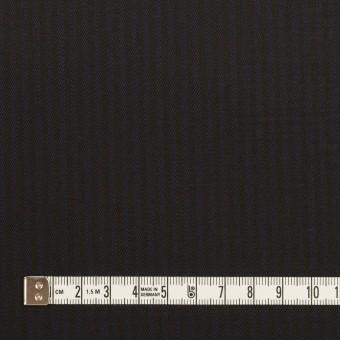 コットン&レーヨン混×ストライプ(ダークネイビー&ブラック)×サージストレッチ サムネイル4
