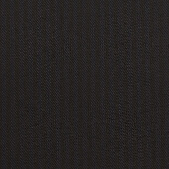 コットン&レーヨン混×ストライプ(ダークネイビー&ブラック)×サージストレッチ サムネイル1