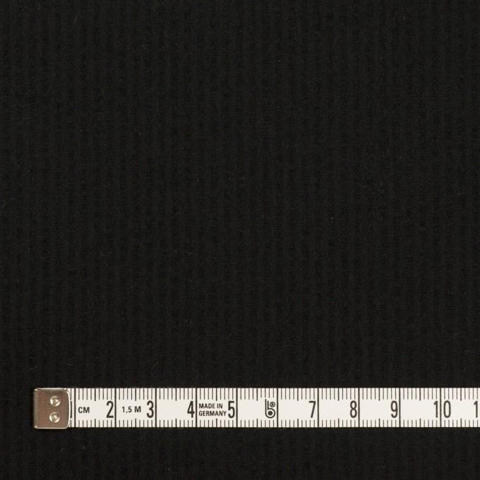 コットン×無地(ブラック)×サッカー イメージ4