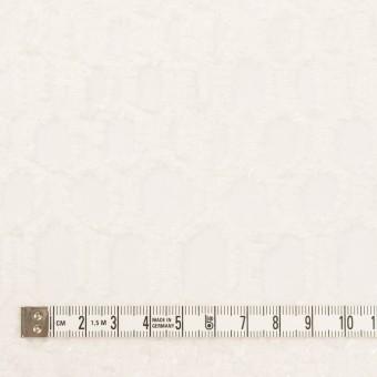 レーヨン&シルク×幾何学模様(オフホワイト)×ジョーゼット・カットジャガード サムネイル4