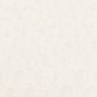 レーヨン&シルク×幾何学模様(オフホワイト)×ジョーゼット・カットジャガード