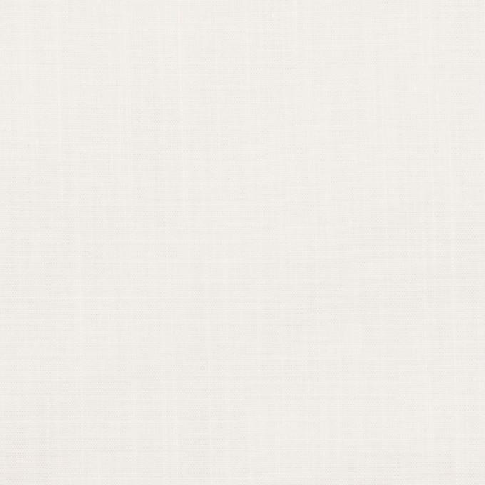 コットン&ラミー×無地(オフホワイト)×ポプリンワッシャー_全2色 イメージ1