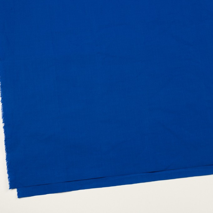 コットン&ラミー×無地(ロイヤルブルー)×ポプリンワッシャー_全2色 イメージ2