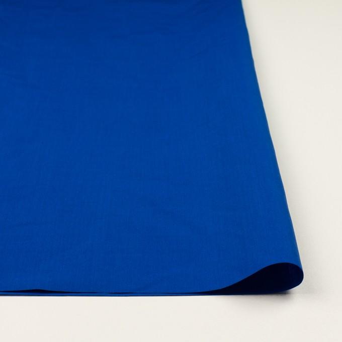 コットン&ラミー×無地(ロイヤルブルー)×ポプリンワッシャー_全2色 イメージ3