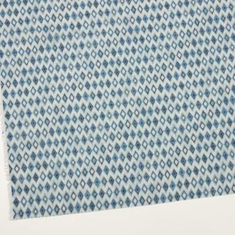 コットン×ダイヤ(ブルーグレー)×ボイル_全2色 サムネイル2