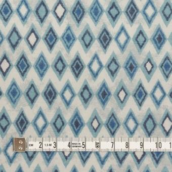 コットン×ダイヤ(ブルーグレー)×ボイル_全2色 サムネイル4