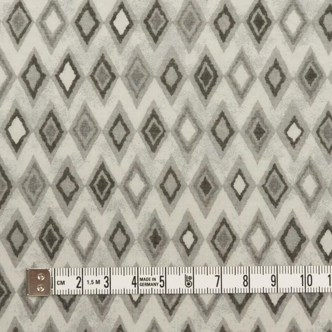 コットン×ダイヤ(グレー)×ボイル_全2色 イメージ4