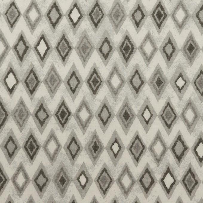 コットン×ダイヤ(グレー)×ボイル_全2色 イメージ1
