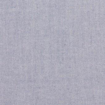 コットン×無地(アッシュブルー)×シャンブレー・ローン