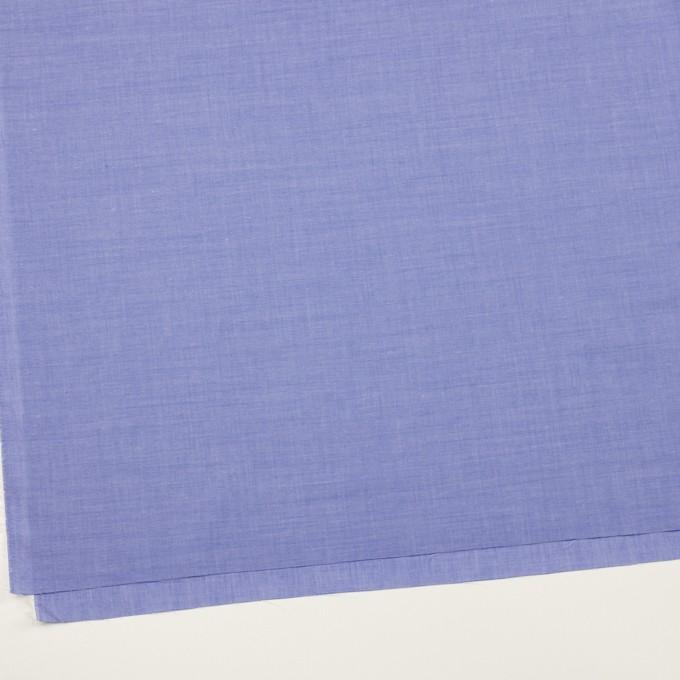 コットン&テンセル混×無地(ブルー)×シャンブレー・ローン_全3色 イメージ2
