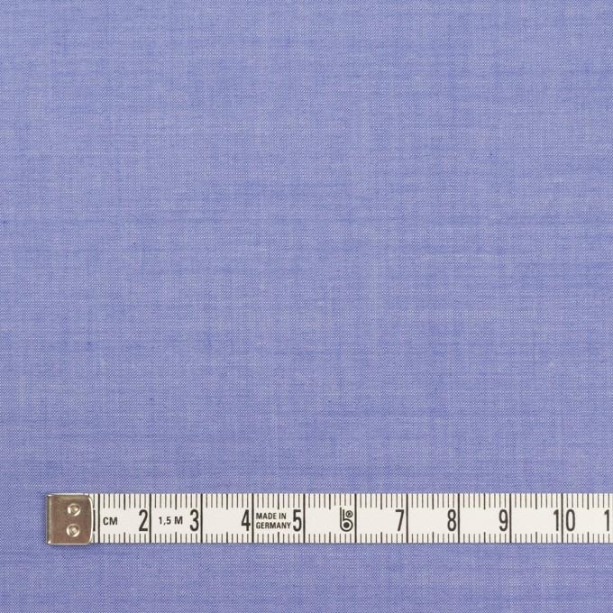 コットン&テンセル混×無地(ブルー)×シャンブレー・ローン_全3色 イメージ4