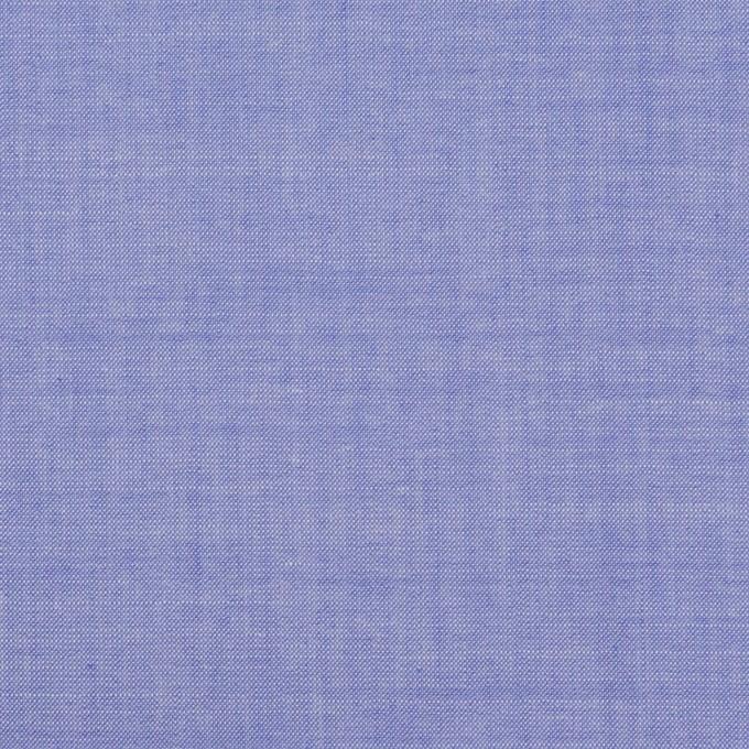 コットン&テンセル混×無地(ブルー)×シャンブレー・ローン_全3色 イメージ1